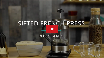 Sifted French Press - KRUVE Recipe Series