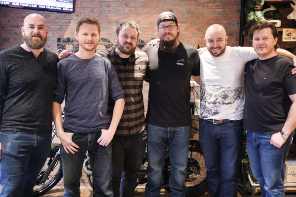 KRUVE team with Back Road Coffee Roasters