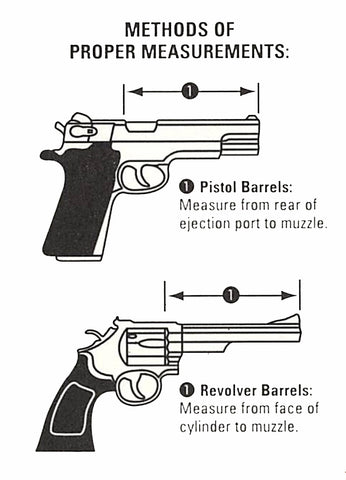 How to measure your gun's barrel length