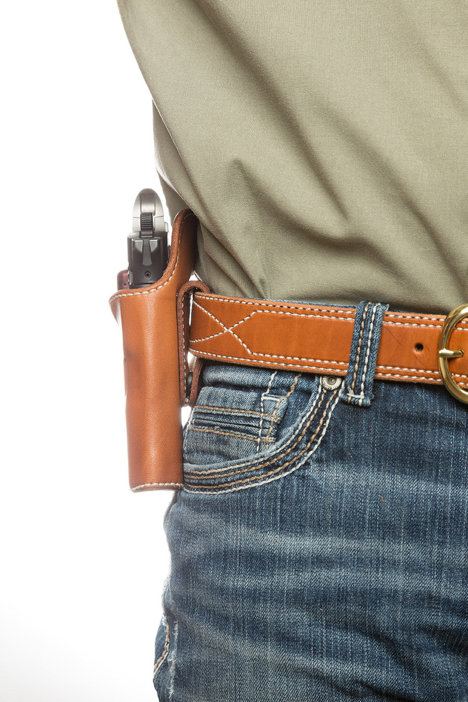 Leather Hip Holster-HH12 | Diamond D Custom Leather