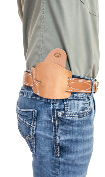 Alaska EDC Leather Belt Slide Holster