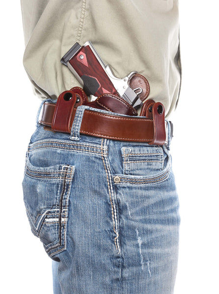 IWB Leather Concealed Carry Inside the Waistband Holster