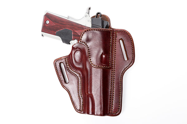 Leather Concealed Carry Pancake Holster