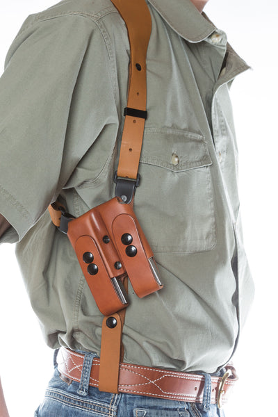 Shoulder holster, Simple Shoulder Rig Mag Pouch view