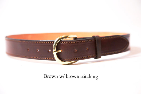 "Leather Gun Belt - ""Alaska Tough"" Leather Belts"