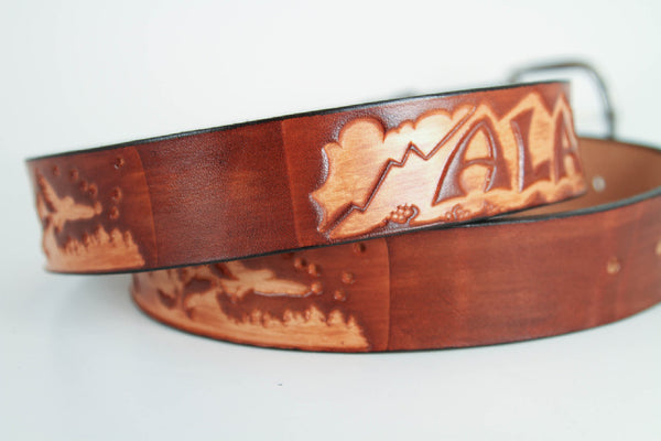 Belt - Alaska Souvenir Leather Belts