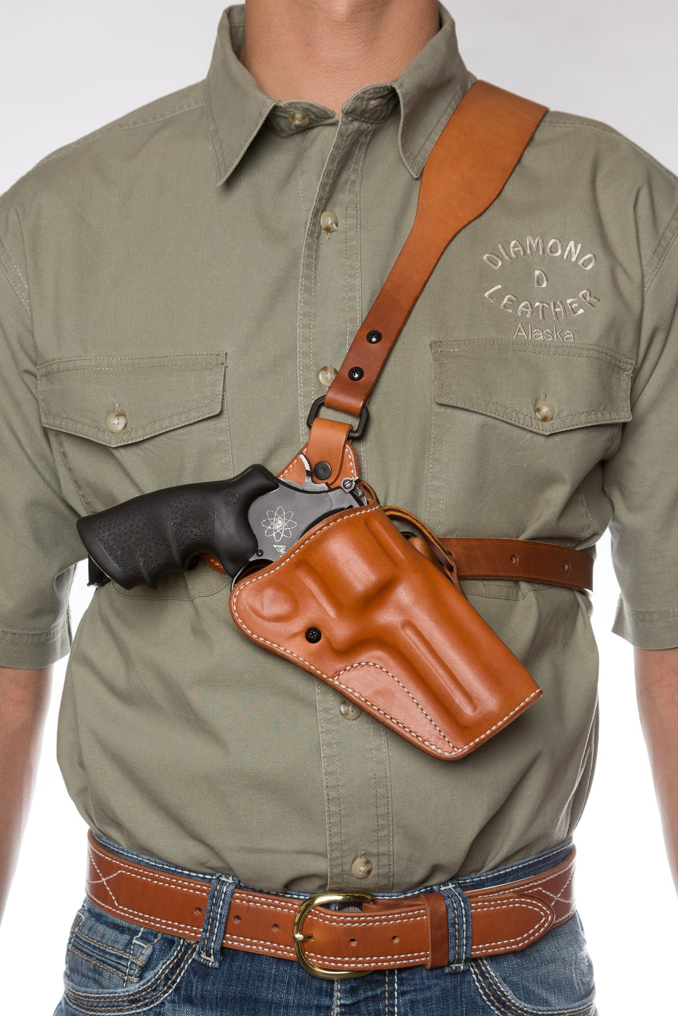 Guides Choice™ Leather Chest Holster, the ULTIMATE outdoor