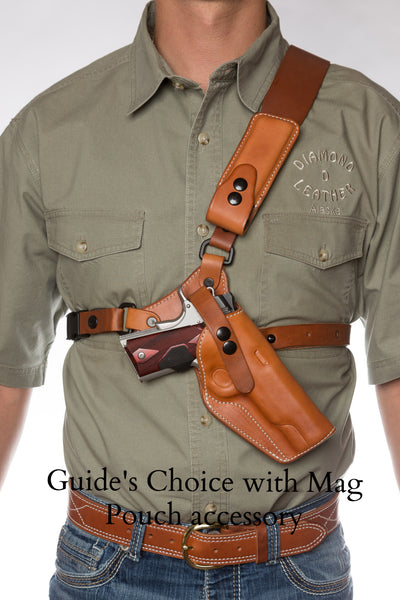 Guides Choice Leather Chest Holster The Ultimate Outdoor