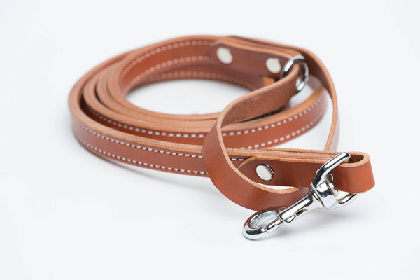 Leather Dog Leash - Dog Leashes