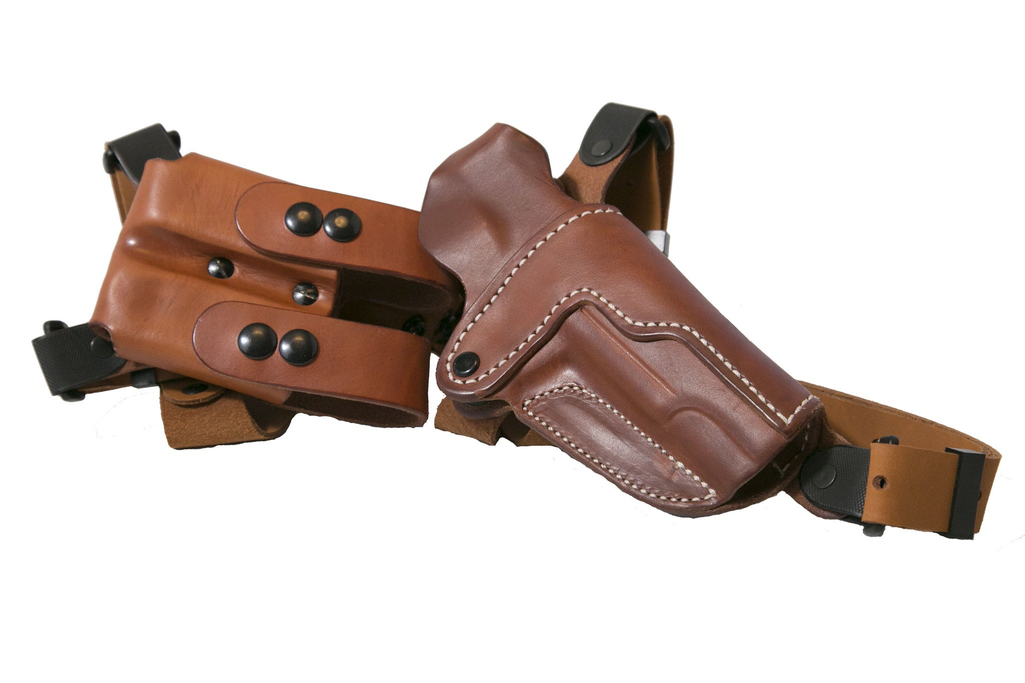 Leather Shoulder Holster, the Simple Shoulder Holster (SSR