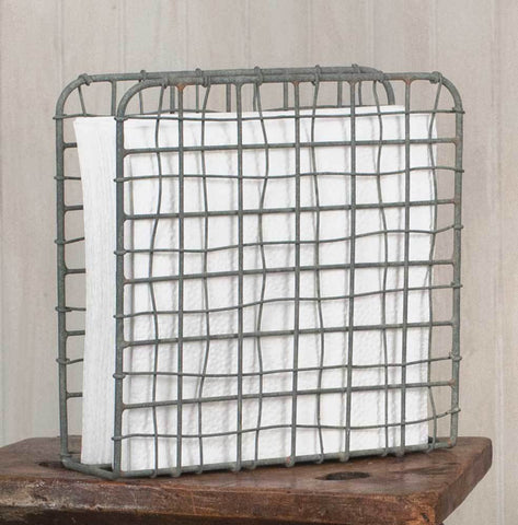 Barn Roof Wire Napkin Holder