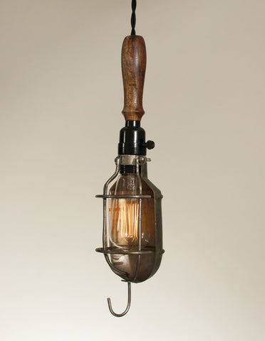 Wells Cage Pendant Light w/ Reflector
