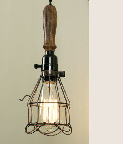 Wells Cage Pendant Light