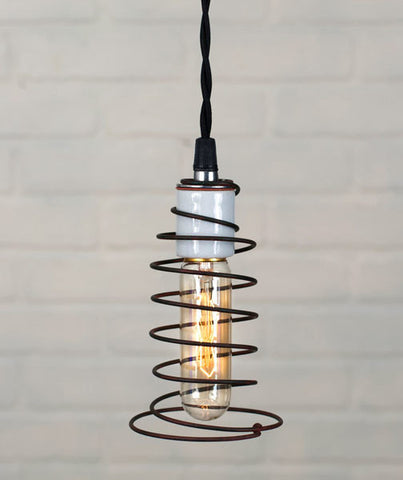 Jones Bed Spring Pendant Lamp