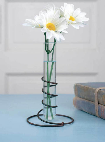 Glass Test Tube Flower Vase
