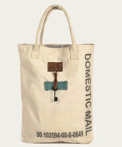 Mail Canvas Tote Bag