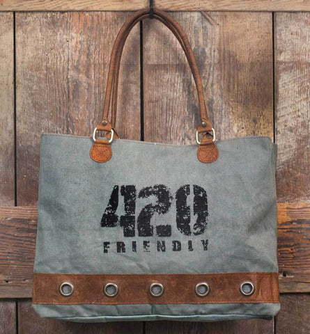 420 Friendly Tote Bag