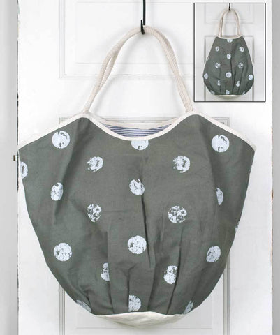 Polka Dot Beach Bag