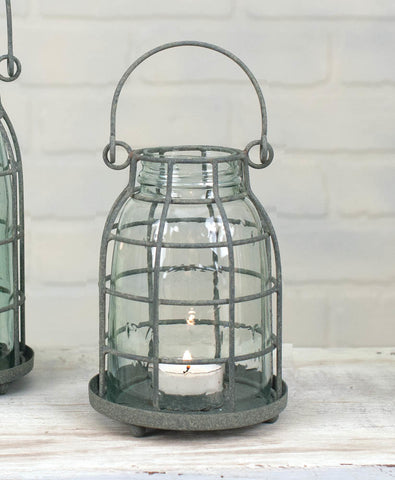 Pint Mason Jar Candle Cage
