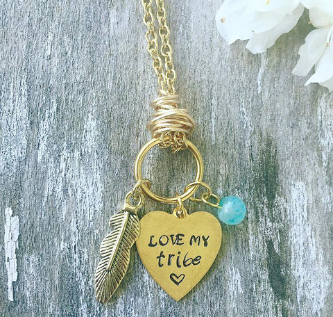 """Love My Tribe"" Necklace"