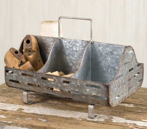 Metal Feed Trough Caddy
