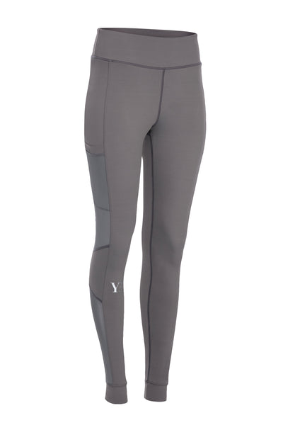 Grey YB Leggings w/ Phone sleeve