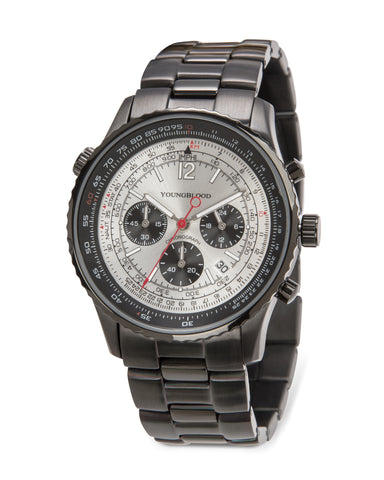 Indianapolis XIV Japanese Movement Round Chronograph