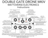 Mattoverse Electronics Double Gate Drone Synthesizer MKIV