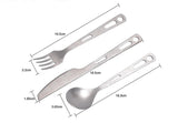 Titanium Tableware Sets