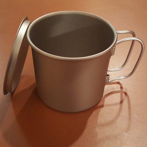 Titanium Coffee Mug 350 ml only 56 grams