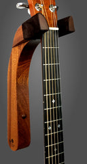 sapele wood guitar wall mount hanger