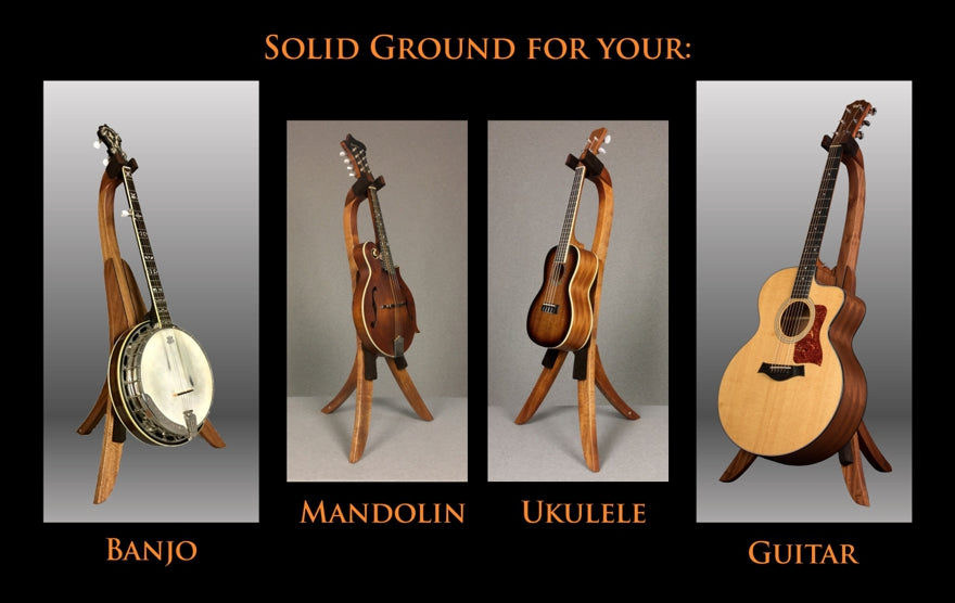 Solid Ground Stands - Special Guitar Stands