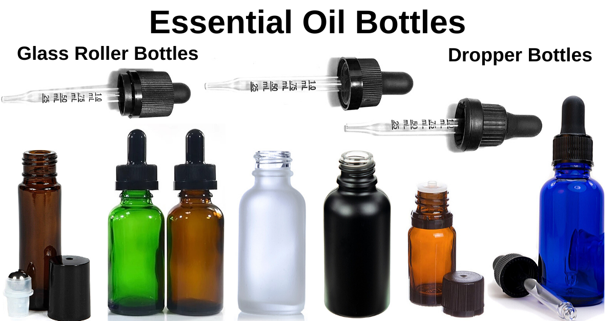 Dropper Bottles & Roller Bottles