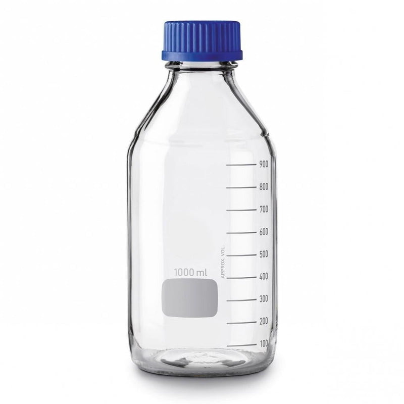 1000mL Glass Media Bottle - CanadianMedHealthSupplies