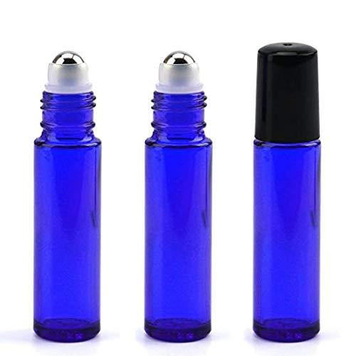 10mL Cobalt Blue Glass Roller Bottle - CanadianMedHealthSupplies