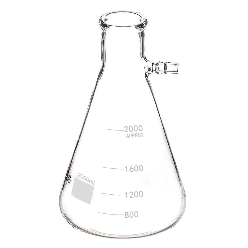Vacuum Graduated Filtering Flask - CanadianMedHealthSupplies
