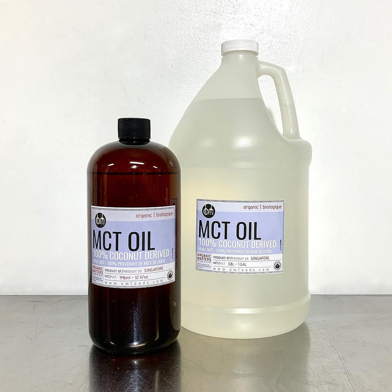 Organic MCT OIL 60/40 (MEDIUM CHAIN TRIGLYCERIDE) Clear and Odorless