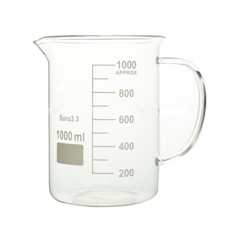 1000mL Glass Beaker with Handle - CanadianMedHealthSupplies