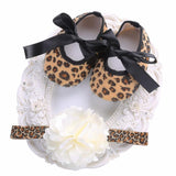 Baby Girls Shoes Headbands Sets,Ballerina Booties Baby Clothing
