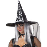Black And Silver Mystic Witch Adult Sexy Halloween Costume