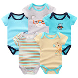 5 Piece Baby Rompers Baby Clothing