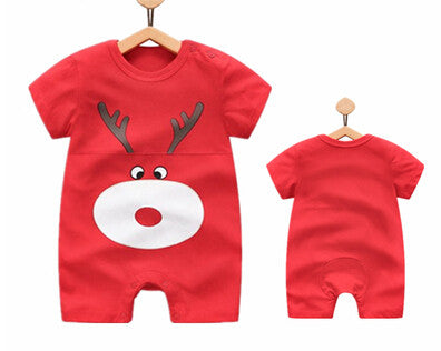 Baby Rompers Short Sleeve 100%Cotton Baby Clothing