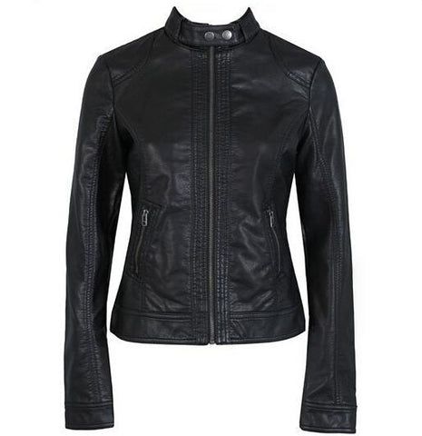 European Leather Motorcycle Jacket
