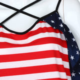 Stripes Star Tee 4th July