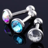 Tragus Helix Bar Cartilage Top Upper Ear Earring Piercing 16G
