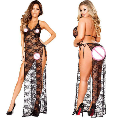 Babydoll Hot Perspective Black L Bandage