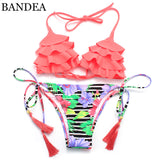 Swimsuit floral Swimwear Women Beach SwimWear