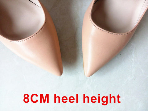 Rubber Sole PU Lining Stilettos 2