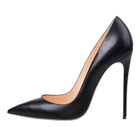 Rubber Sole PU Lining Stilettos Shoes 1
