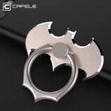 Universal Metal Bat Ring Holder Aluminum Alloy Ring Phone Stand for Smartphones Mini Tablets Black Gold Red